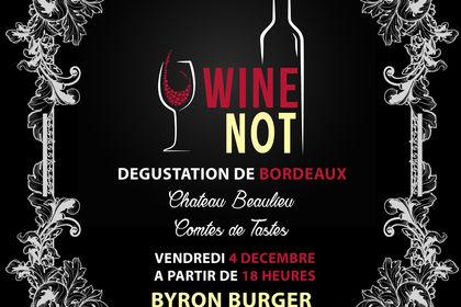 Wine Not - Bannière