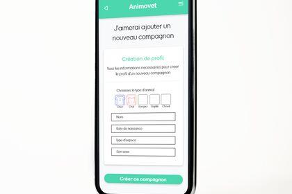 Maquette app mobile 2021