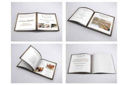 Création plaquette pdf digital et print