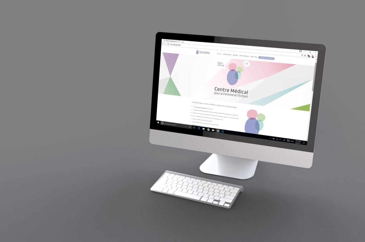 Integration graphismes - Site Wordpress
