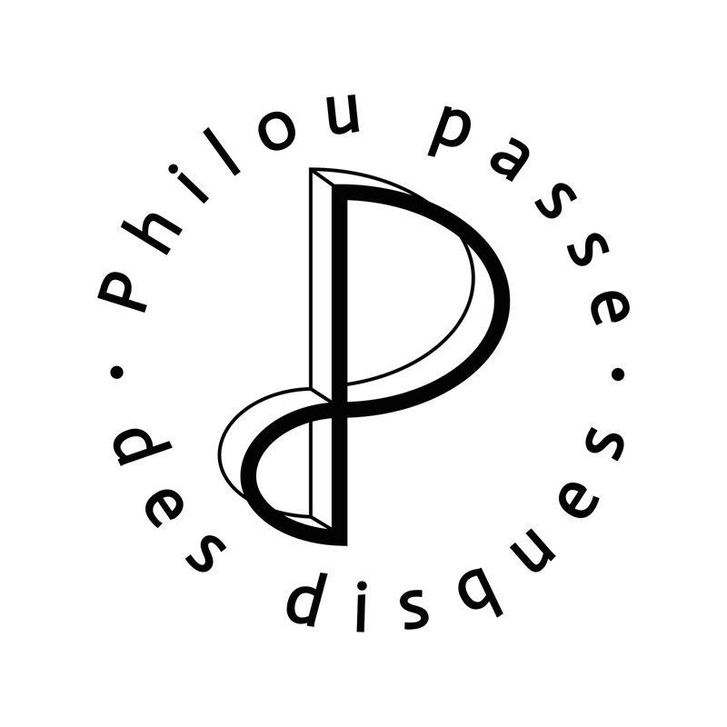 """Logo pour """"Philou passe des disques"""" (DJ)"""