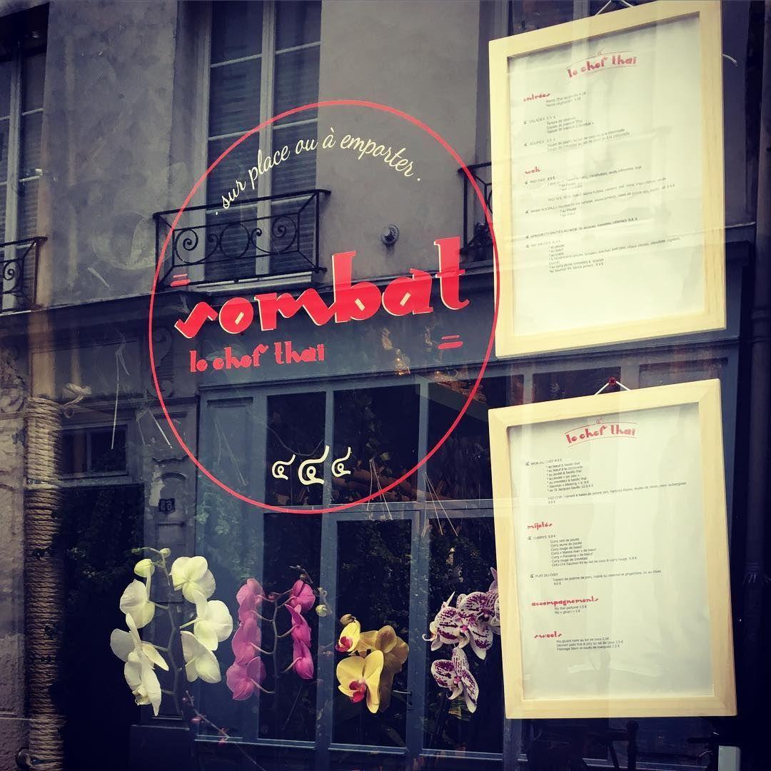 """Sticker pour """"Sombat Le Chef Thaï"""""""