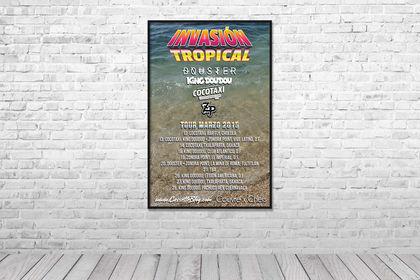 Affiche - Invasión Tropical