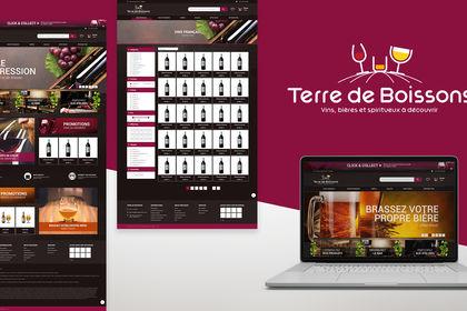 Webdesign | TERRE DE BOISSONS