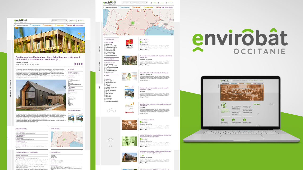Webdesign | ENVIROBAT OCCITANIE