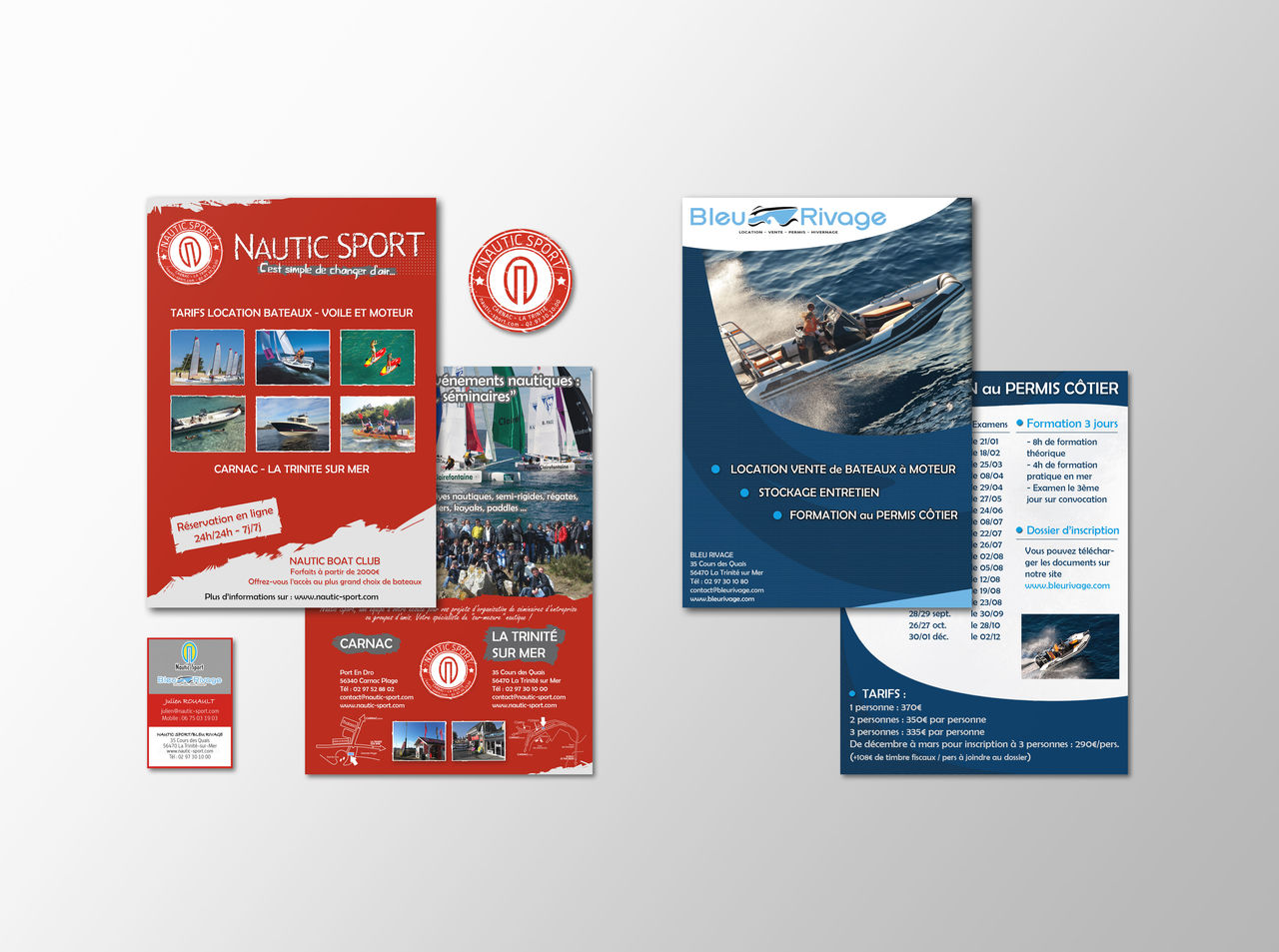 "Charte graphique ""Nautic Sport"""