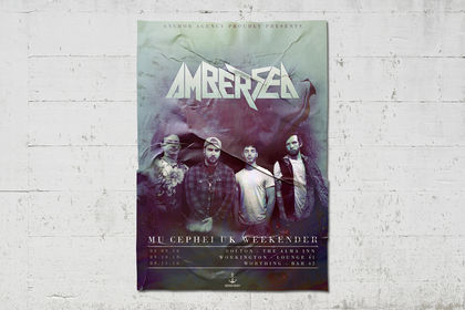 "Affiche concerts ""Amber Sea"""