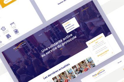 Site Vitrine Responsive - Réseau du Protocole
