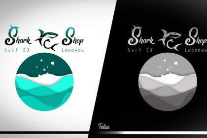 """Logo """"Shark Shop"""""""