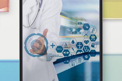 Illustration sur le Big Data médical