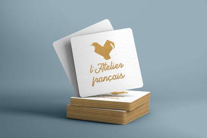 Projet de logo pour l'Atelier français