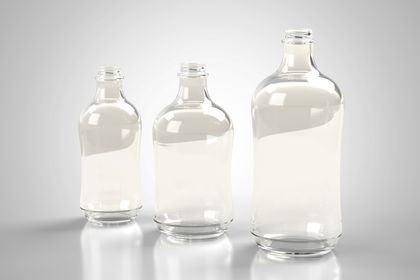 Serie de bouteilles