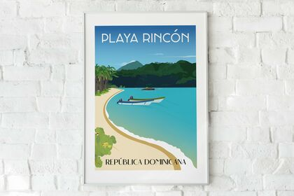 Poster PLAYA RINCON - RD