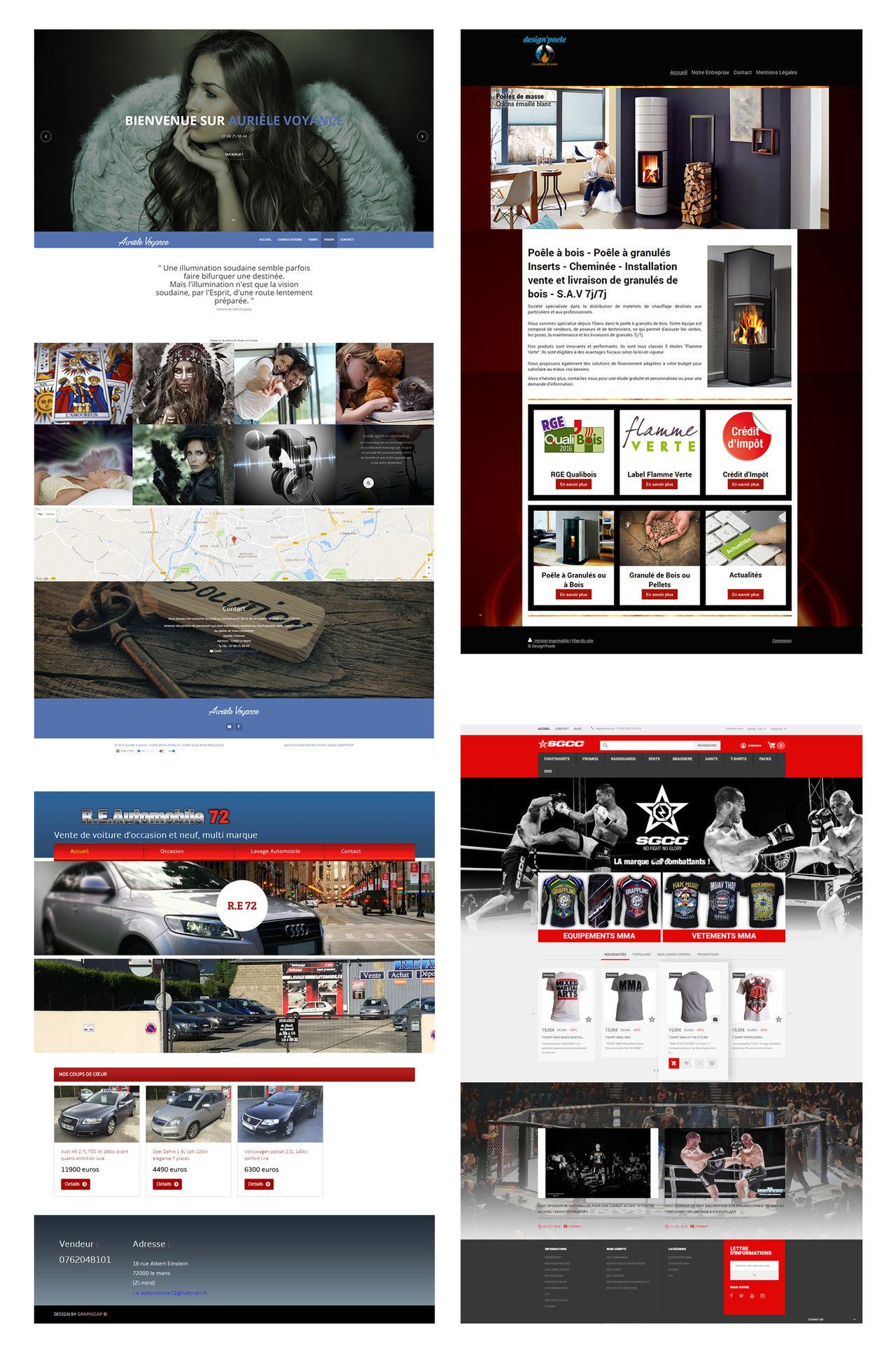 Site internet HTML5 responsive