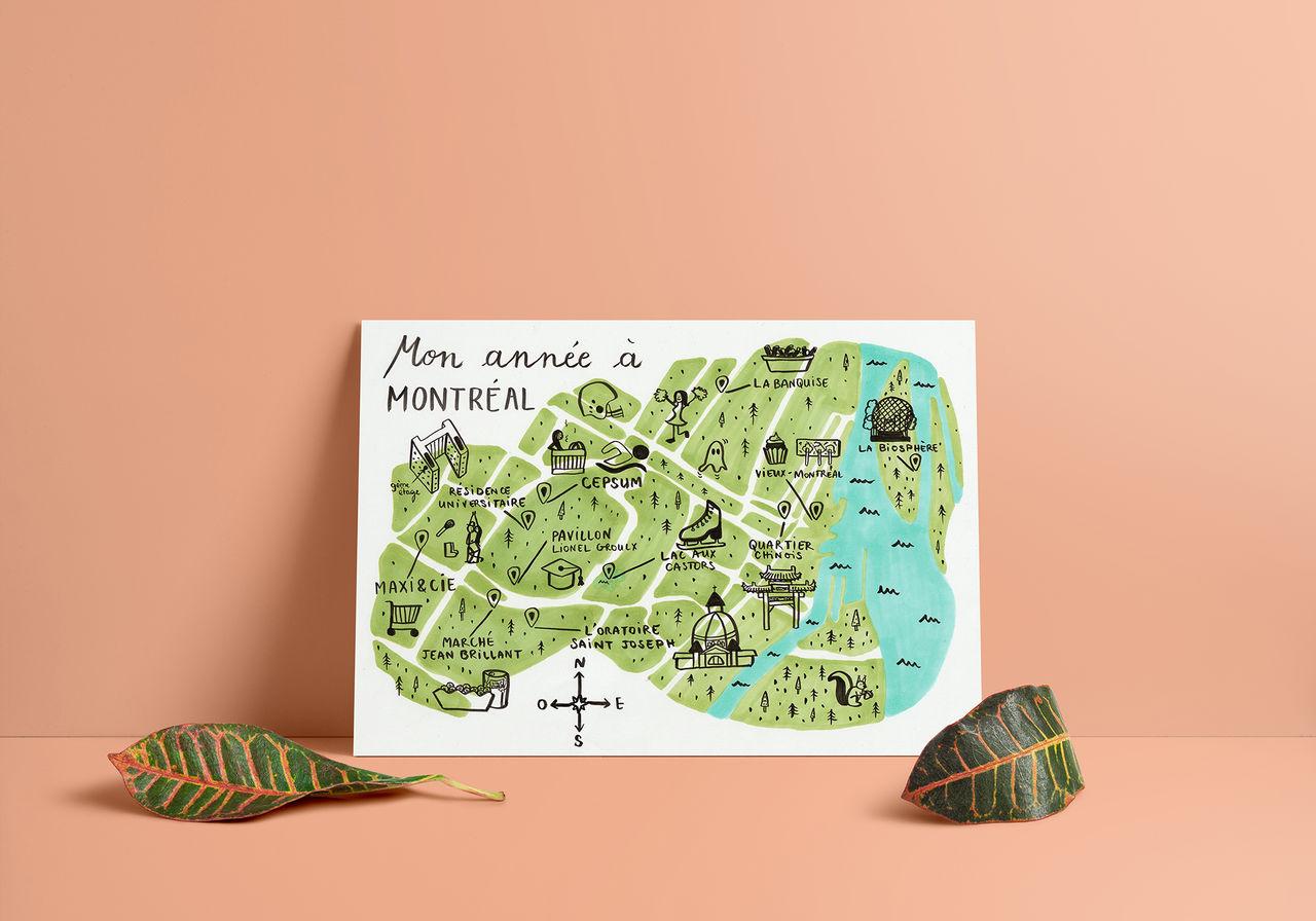 Réalisation de cartes de voyages personnalisées!!