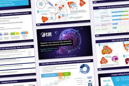 Présentation powerpoint illustration scientifique