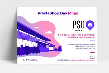 Invitation event PrestaShop