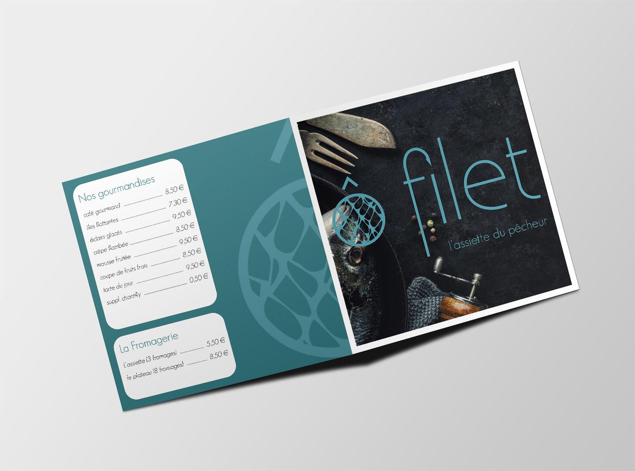 Logo restaurant menu