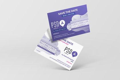 Carte Save The Date PrestaShop