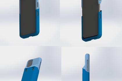 Conception coque téléphone
