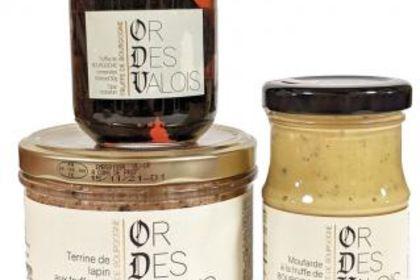 Etiquettes Or des Valois