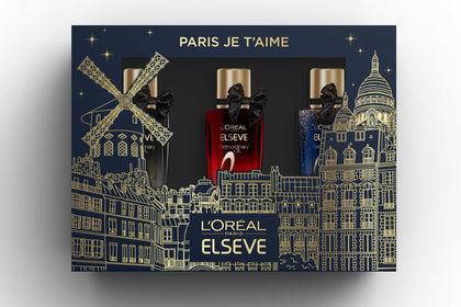 Graphisme packaging - Coffret L'Oréal Paris