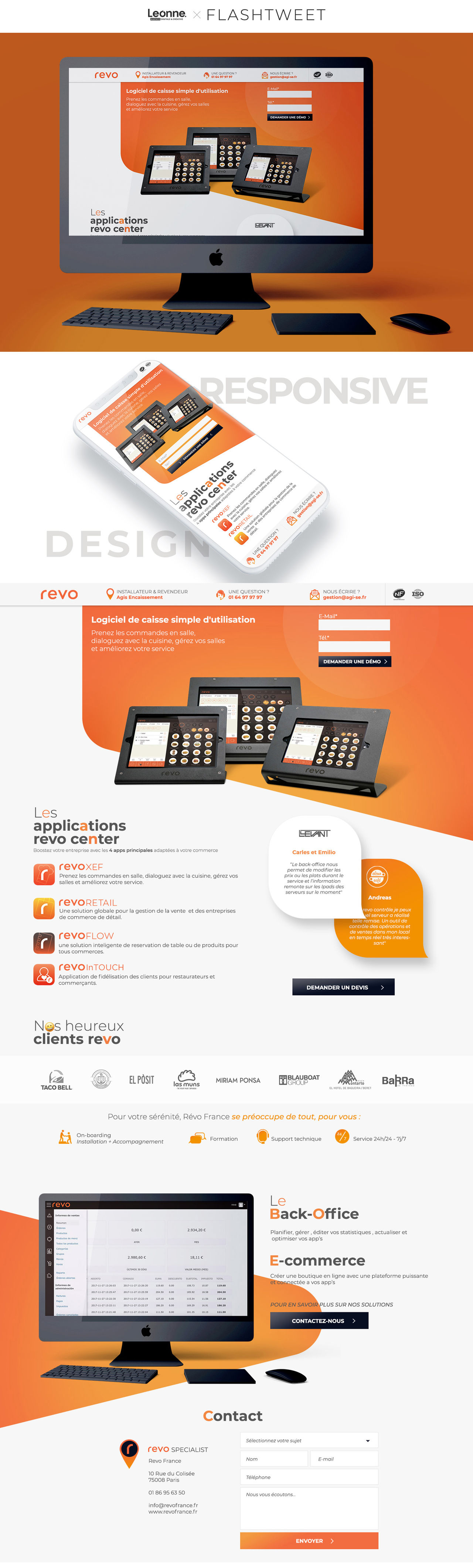 REVO – LANDING PAGE – MARKETING DIGITAL