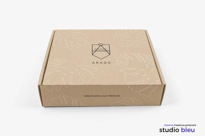 Packaging ARAGO Vêtement sur mesure