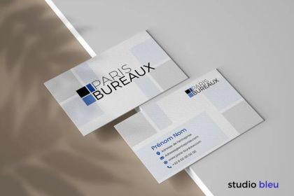 Cartes de visites Paris Bureaux