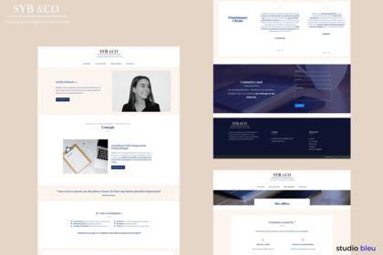 Site Web Syb &Co - Coaching profesionnel