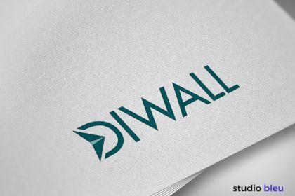 Réalisation de logo Diwall