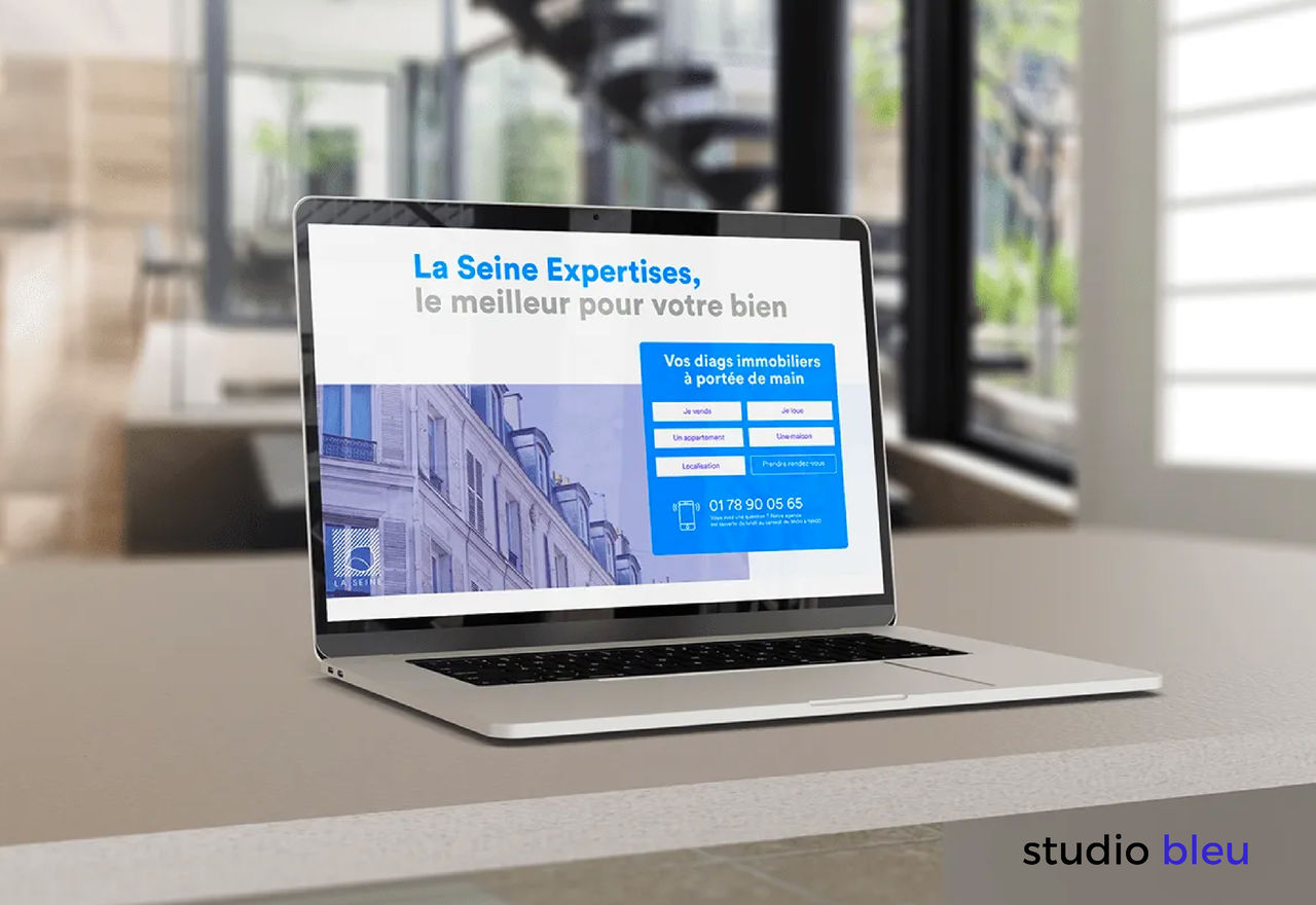 Charte graphique La Seine Expertises