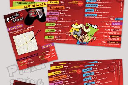 Publicité - Pizza Swing