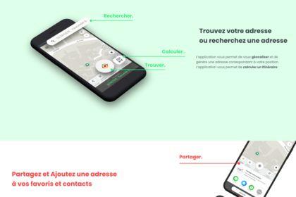Webdesign - application