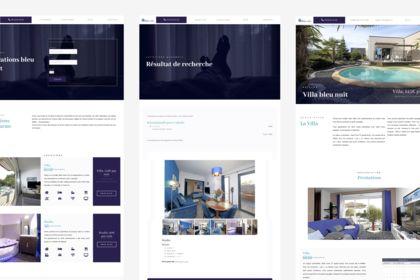 Web design - site location