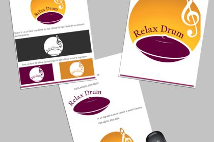 Charte graphique - Relax DRUM