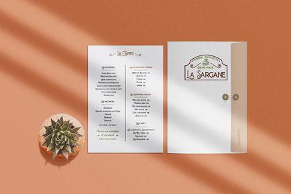 Réalisation de la charte graphique de la Sargane