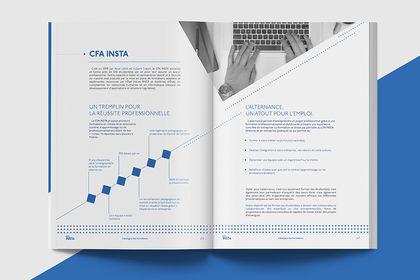 Direction Artistique CFA Insta