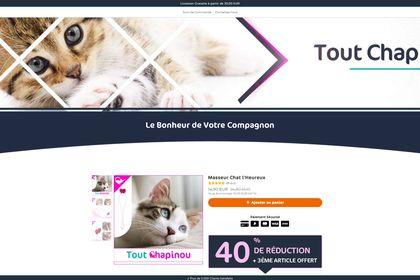 Site Mono-produit – toutchapinou.com