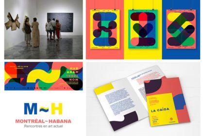 Identité visuelle pour un centre d'artiste