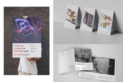 Identité visuelle pour un centre d'artistes