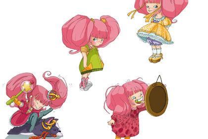 Character Design Gabi