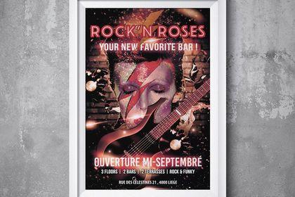 Flyer Rock'n roses