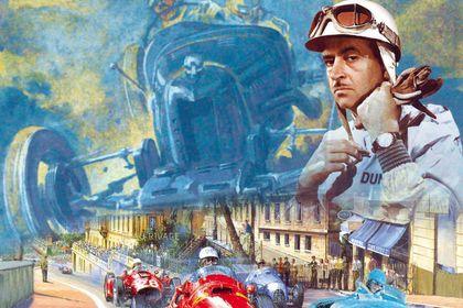 Affiche Maurice Trintignant