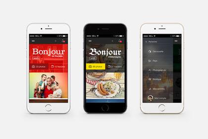 Bonjour Application mobile