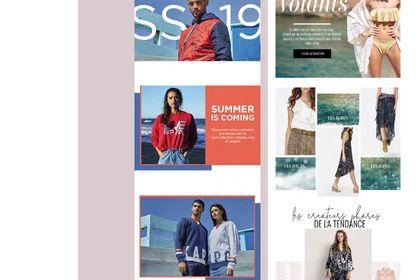 Designs de newsletters