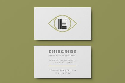 Emiscribe - Business card
