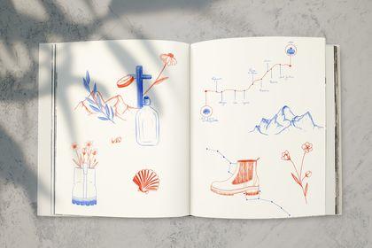 Illustrations pour livre
