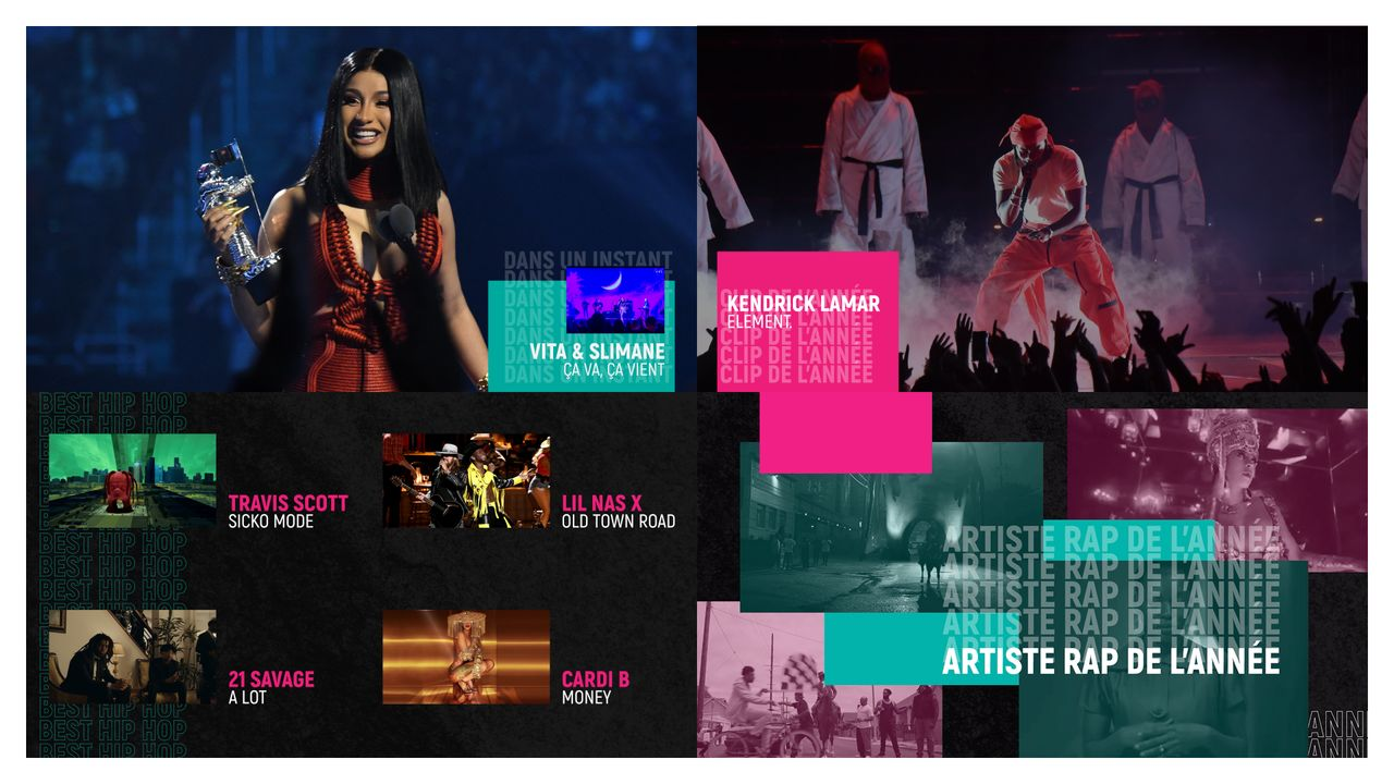 HABILLAGE MTV VMAS