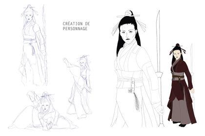 Création de personnage